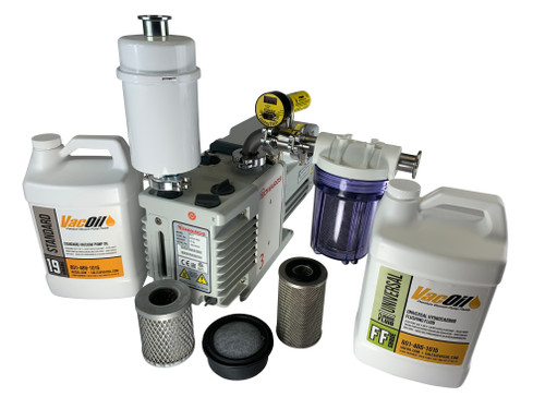 Edwards RV3 Professional Vacuum Package