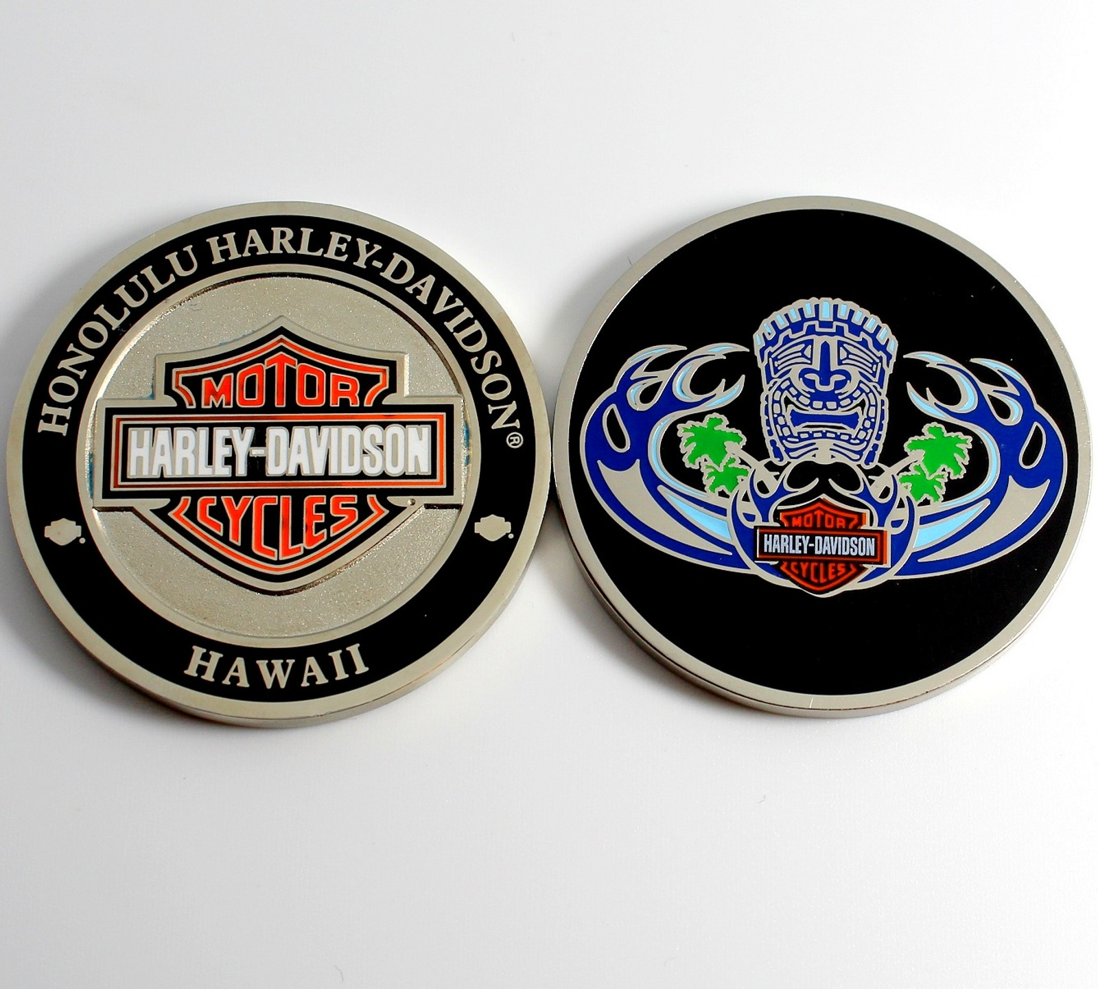Tiki Wave Challenge Coin