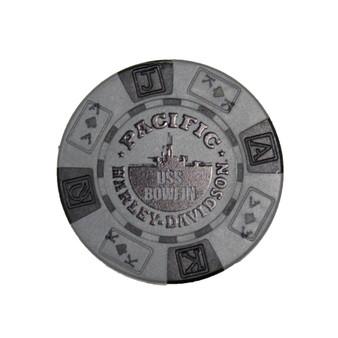 Harley-Davidson USS Bowfin Grey Poker Chips