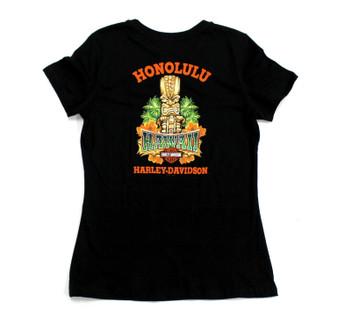 Tiki Guy Harley-Davidson T-shirt