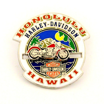 Moveable Motorcycle Harley-DavidsonPin
