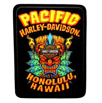 Tiki Leaves Harley-Davidson Patch