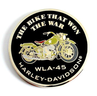 Won the War Harley-Davidson Challenge Coin
