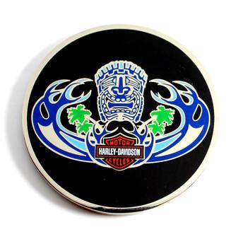 Tiki Wave Harley-Davidson Challenge Coin
