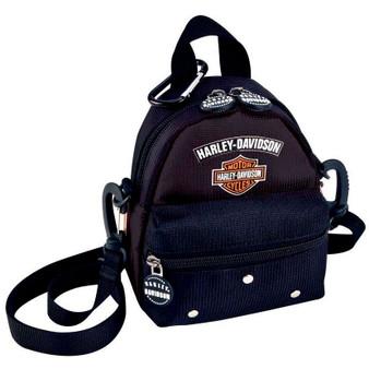 Mini Me Harley-Davidson Backpack Black