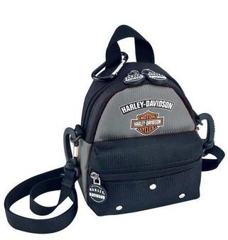 Mini Me Harley-Davidson Backpack Silver