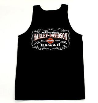 Harley-Davidson® Vintage Art Black Tank Top