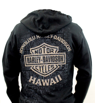 Tapa Shield Harley-Davidson Jacket
