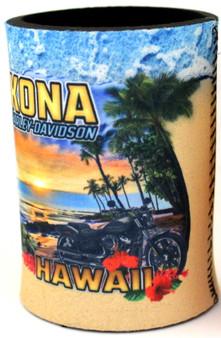 Kona Beach Harley-Davidson Can Cooler