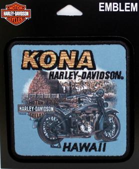 Kona Kamakahonu Harley-Davidson Patch