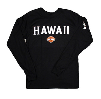 Hawaii Bold Harley-Davidson Long Sleeve