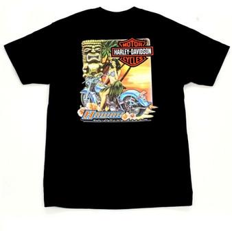 Hula Girl Harley-Davidson T-shirt