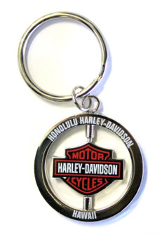 Bar & Shield Spinner Harley-Davidson Keychain