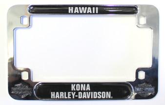 Harley-Davidson Motorcycle License Plate Frame Kona