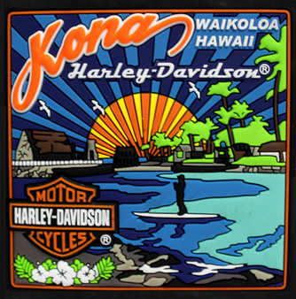 Kona Sun Harley-Davidson Magnet