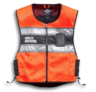 Harley-Davidson® Hi-Vis Orange Riding Vest