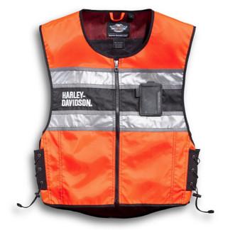 Harley-Davidson Hi-Vis Orange Riding Vest