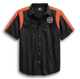 Genuine Oil Can Colorblock Harley-Davidson Shirt