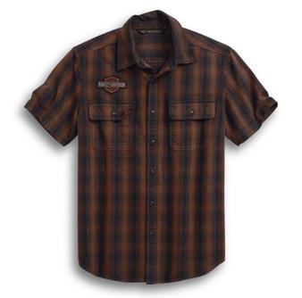 Harley-Davidson® Plaid Short Sleeve Shirt