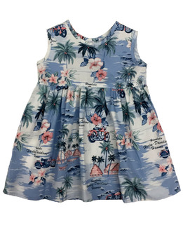 Simple Life Girl's Harley-Davidson Aloha Dress