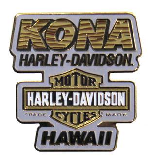 Kamakahonu Kona Harley-Davidson Pin