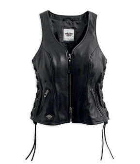 Avenue Harley-Davidson Leather Vest