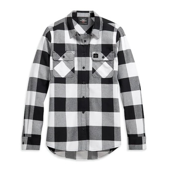 Buffalo Harley-Davidson Plaid Shirt