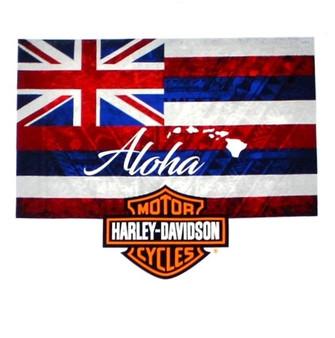 Harley-Davidson® Aloha Flag Long Sleeve