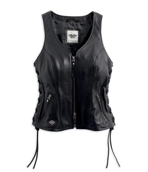 Avenue Harley-Davidson Leather Vest