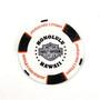 Harley-Davidson USS Arizona White & Black Poker Chips