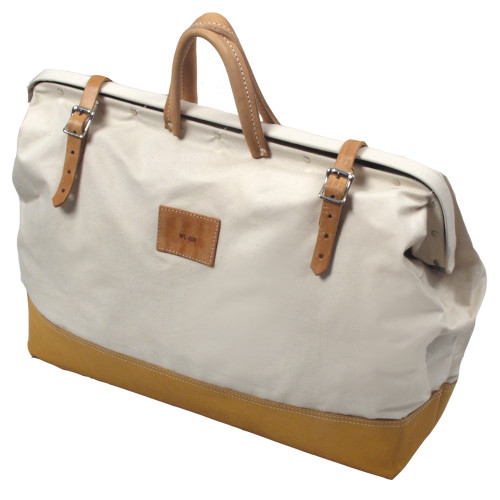 DELUXE LEATHER BAG WITH LEATHER BOTTOM