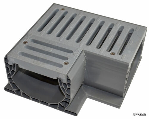 NDS 2381 Spee-D Channel Fabricated 90-degree Elbow Section w/ Gray Grate