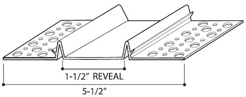 "REVEAL 1 1/2"" BOX"