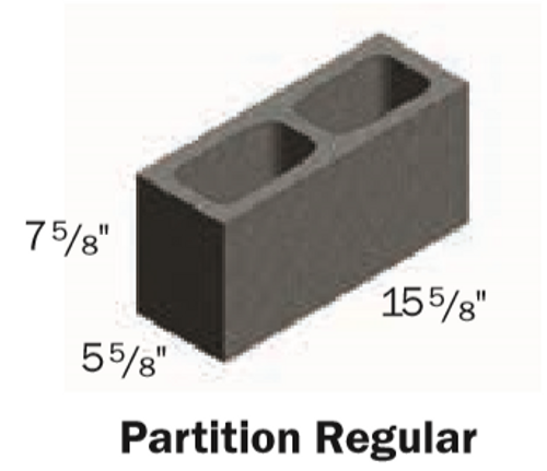 PARTITION BLOCK