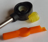Pontiac Bonneville shift cable repair kit fits in this cable style