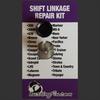 Mazda MX-6 shift bushing repair for transmission cable