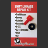 This Mercury Mariner kit will fit any of the shifter cable clips shown (and more)
