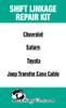 Cadillac XLR Transmission Shift Selector Cable Repair Kit