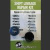 Jeep Commander shift bushing repair for transmission cable