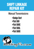 Mini Cooper manual transmission shift cable bushing