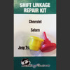 Jeep Wrangler Transfer Case  shifter linkage repair kit