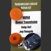 Dodge Dart RT1Kit Manual Shifter Cable Bushing Repair Kit