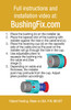 GMC Savana 1500 replace the transmission shift bushing not the cable