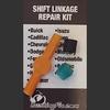 Mazda B2200 Shifter Cable Bushing Repair Kit  with replacement bushing.