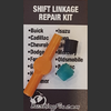 Jaguar S-Type  Shifter Cable Bushing Repair Kit with replacement bushing.