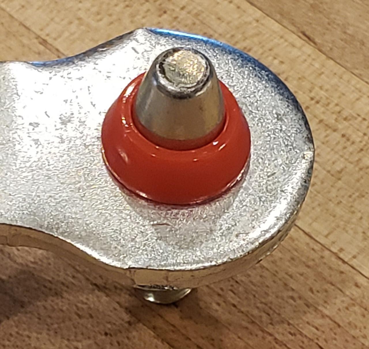 Mercury Monterey FA1KIT™ Transmission Shift Lever / Linkage Replacement Bushing Kit fits onto pin as shown.