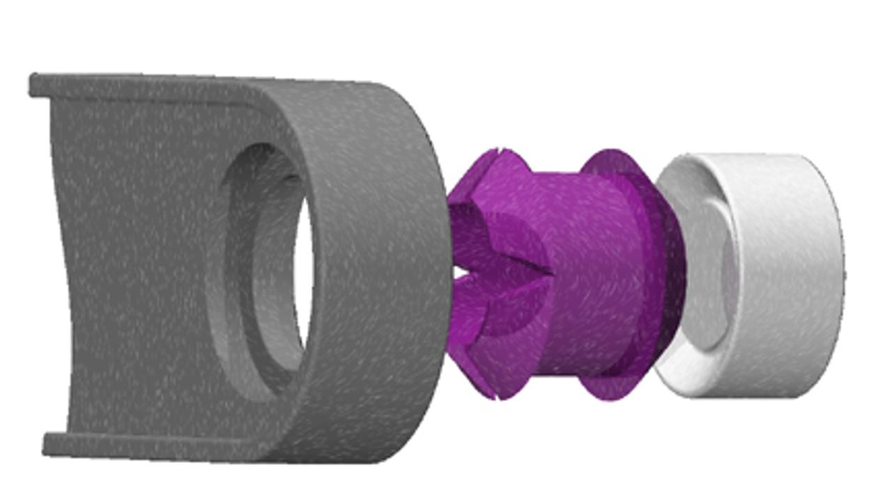 Isuzu D-Max bushing repair kit for shift selector cable
