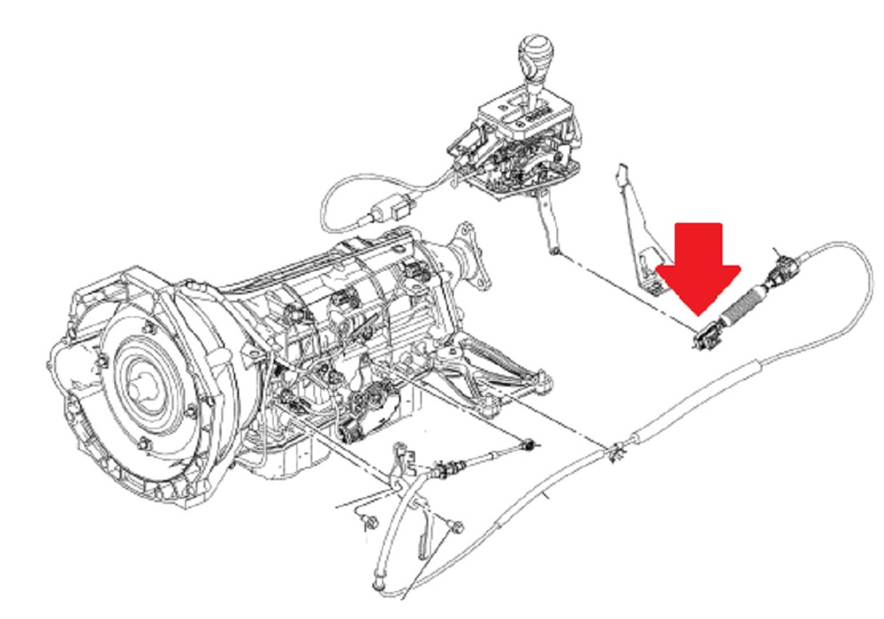 Ford Ranger Shift Linkage Diagram - General Wiring Diagram