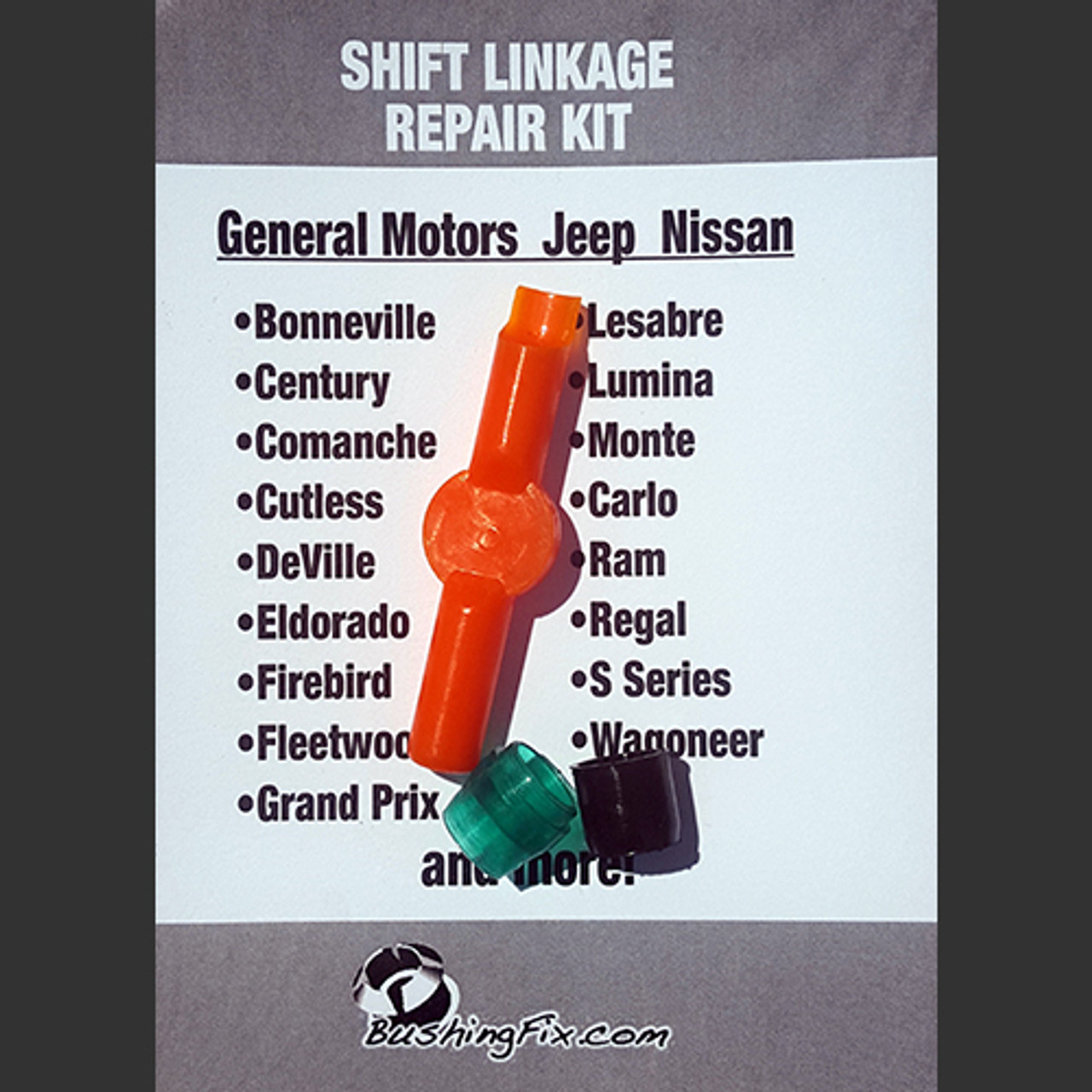 Jeep Cherokee Laredo bushing repair kit