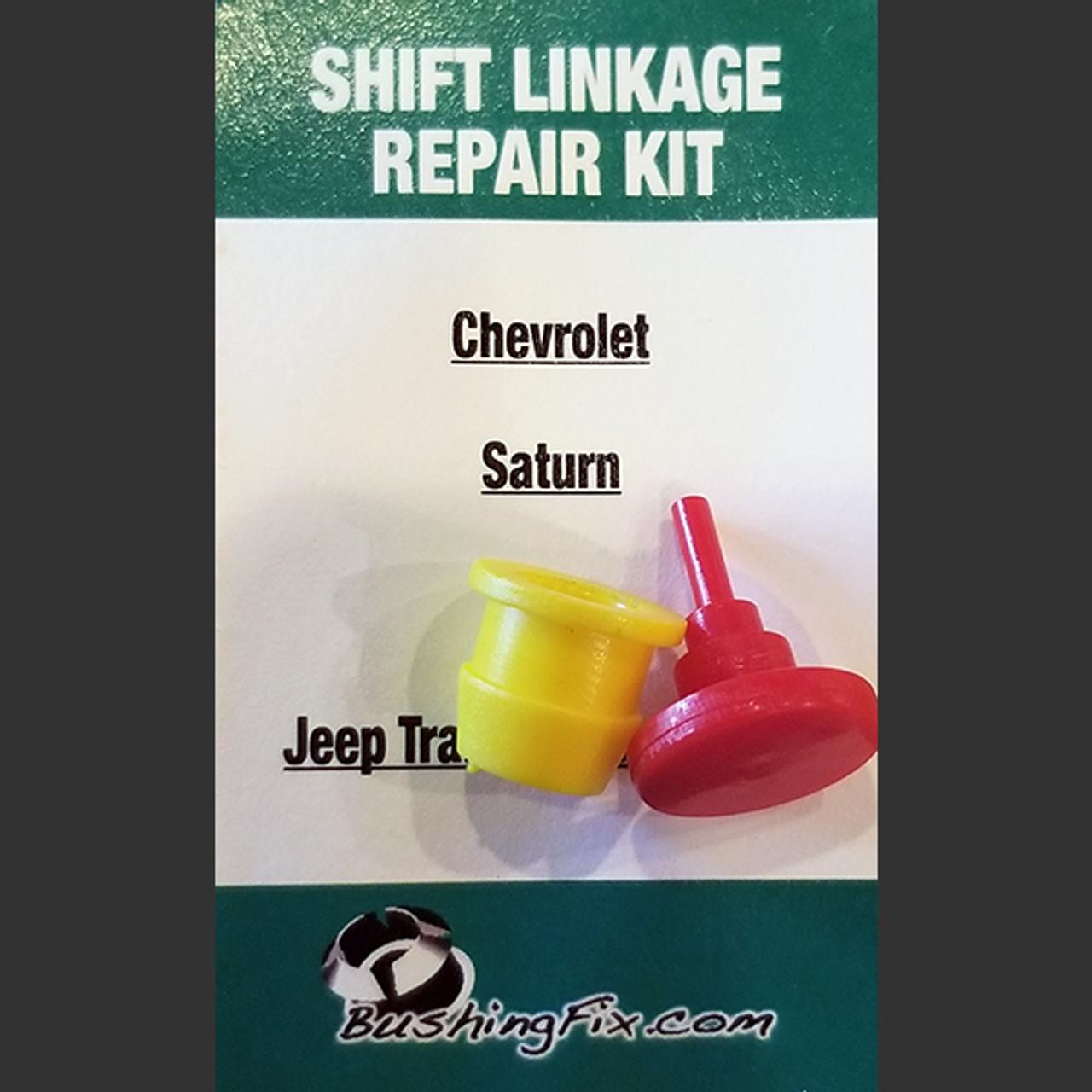 Pontiac Pursuit transmission shifter linkage repair kit